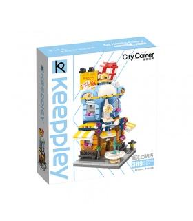 Keeppley City Corner C0105 Fashion Department Store QMAN Building Blocks Toy Set