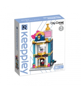 Keeppley City Corner C0110 Luxury Store QMAN Building Blocks Toy Set