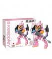 Keeppley K20303 Neon Genesis Evangelion Unit 08 Mini Building Blocks Toy Set