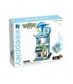 Keeppley K20208 Squirtle Swim Equipment Shop Building Blocks Toy Set