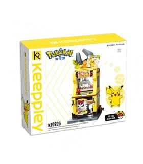 Keeppley K20209 Pikachu doll shop Building Blocks Toy Set