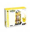 Keeppley K20209 Pikachu Claw Machine Shop Building Blocks Toy Set