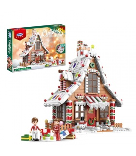 XINGBAO 18021 Gingerbread House Building Block Toy Set