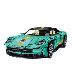 SUPER 18K K85 Tiffany Blue Aston Martin DB11 Sportwagen-Baustein-Spielzeug-Set