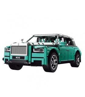 SUPER 18K K93 Grünes Retro-Auto-Baustein-Spielzeug-Set