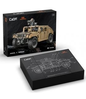 CADA C61036 1:8 HUMVEE H1 Off-Road Vehicle Building Block Toy Set