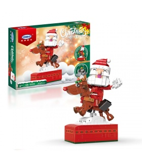 XINGBAO 18019 Ensemble de jouets de construction joyeux Noël