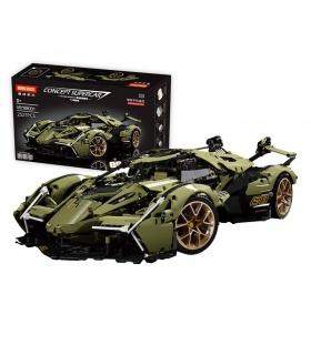 MOYU 88001 Lamborghini V12 Concept Car Building Block Toy Set