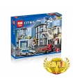 LEPIN 02020 City Police Station Building Bricks Set