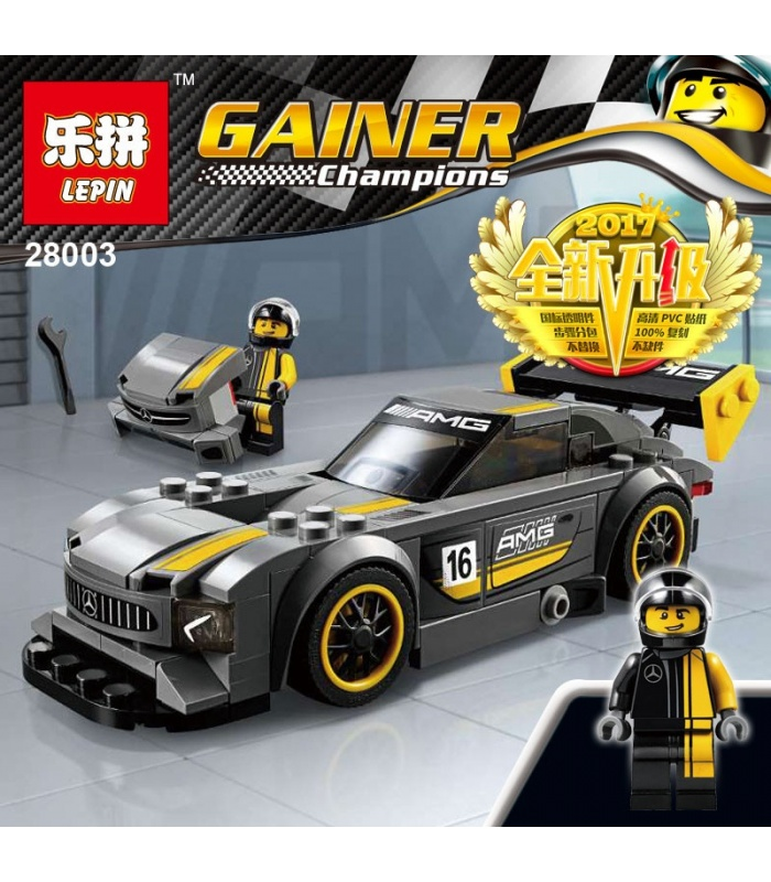 LEPIN 28003 Mercedes AMG GT3 Building Bricks Set