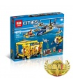 LEPIN 02088 Deep Sea Operation Base Building Bricks Set