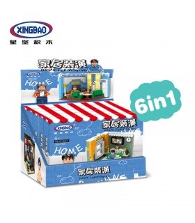 XINGBAO 01401 Genuine Living House Building Bricks Set