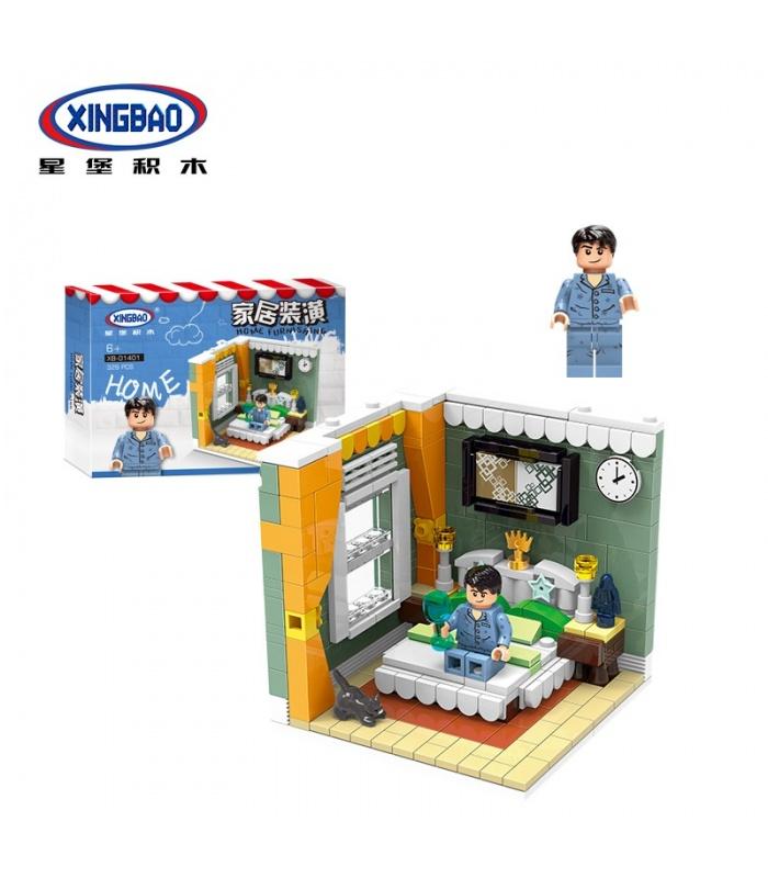 XINGBAO 01401 подлинная жилого дома дома кирпича