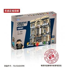 XINGBAO 01005 Musée Maritime de Briques de Construction, Jeu de