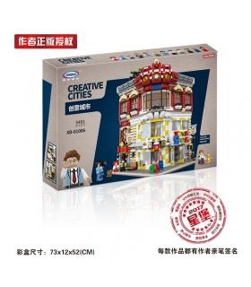 XINGBAO 01006 Juguetes Y Librerías Edificio de Ladrillos Conjunto
