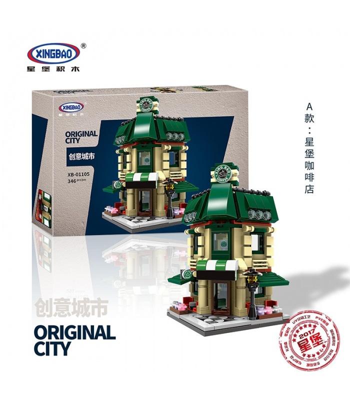 XINGBAO 01105 оригинальный город мини-модульное здание кирпичи набор