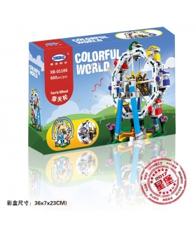 XINGBAO 01106 Ferris Wheel Building Bricks Set