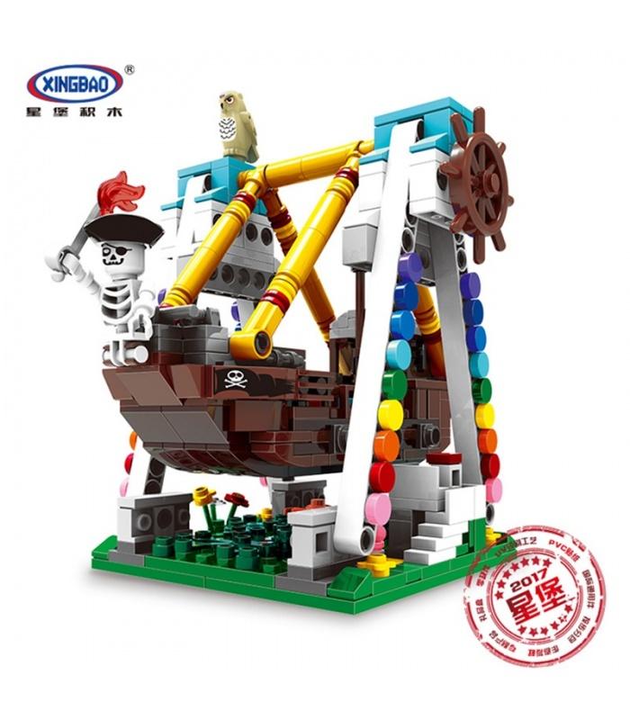 XINGBAO 01109 Bateau Pirate Briques de Construction, Jeu de