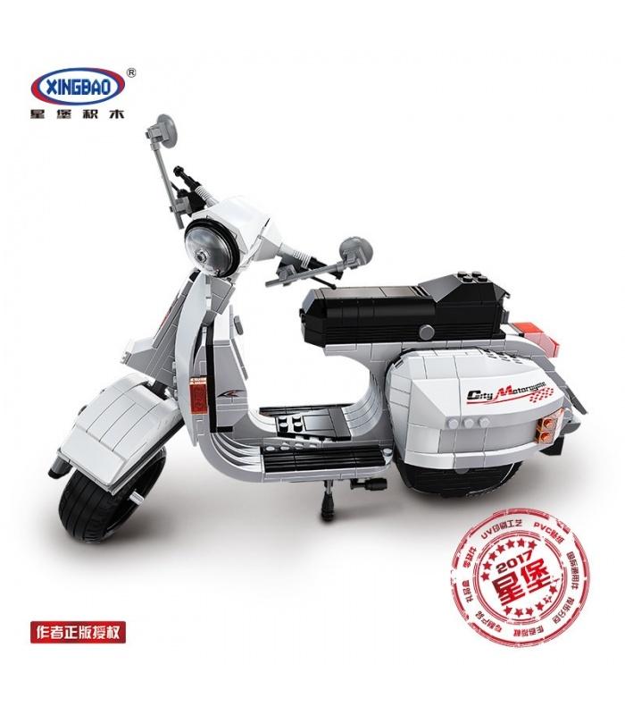 XINGBAO 03002 Vespa P200 Scooter Briques de Construction, Jeu de