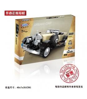 XINGBAO 03007 благородный строительного кирпича комплект