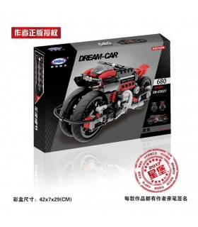 XINGBAO 03021 Motorcycle Building Bricks Set