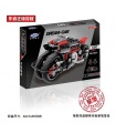 XINGBAO 03021 Motorcycle Building Bricks Toy Set