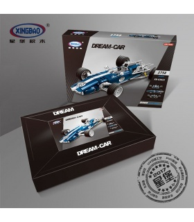 XINGBAO 03022 Blue Sonic Racing Cars