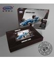 XINGBAO 03022 синий Соник гонки на машинах строительного кирпича комплект