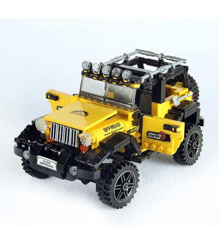 XINGBAO 03024 Off-Road Adventure Jeep Building Bricks Set
