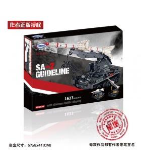 XINGBAO 06003 Sa-2 Guideline Edificio de Ladrillos Conjunto