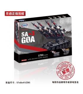 XINGBAO06004Sa-3ゴア-T55タンクの建物の煉瓦セット