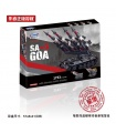 XINGBAO06004ソSa-3ゴアには、T55タンクの建物の煉瓦玩具セット
