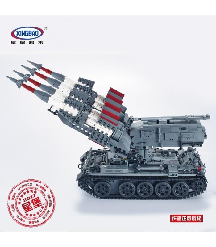 06004 XINGBAO советских СА-3 Goa и Т55 танк строительного кирпича комплект
