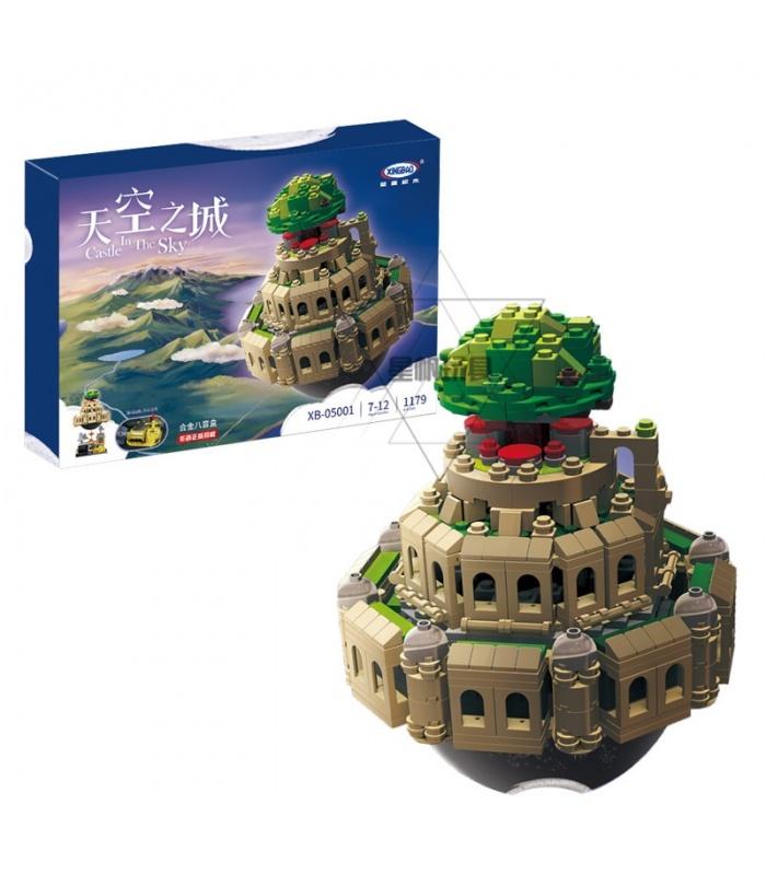 Замок XINGBAO 05001 в здании небо Лапута игрушки кирпича