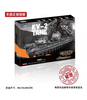 XINGBAO 06006 Soviet KV-2 Tank Building Bricks Set