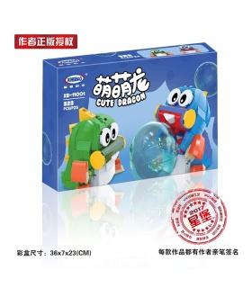XINGBAO 11001 Niedlichen Drachen Bau-Steine-Set