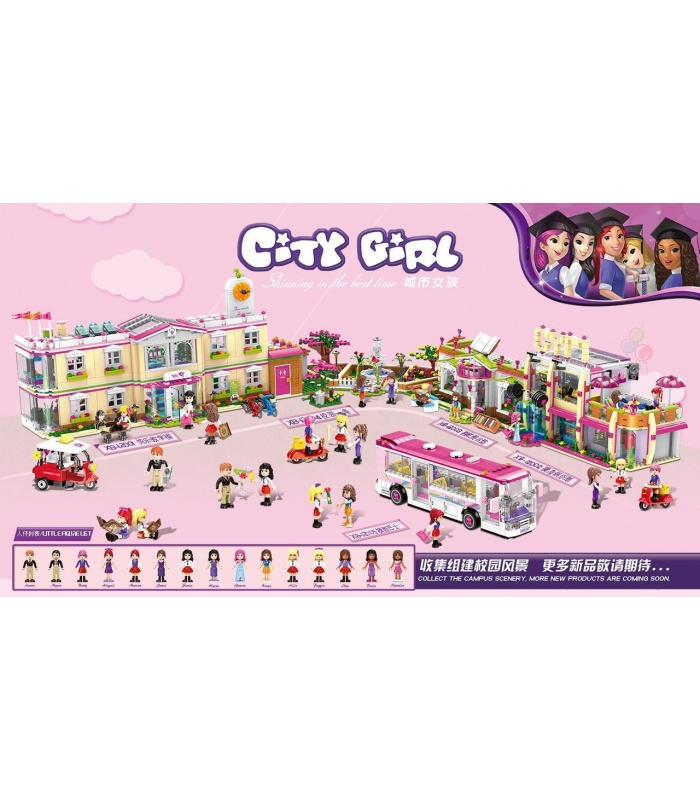 XINGBAO 12001 Happy Teaching Building Building Bricks Set