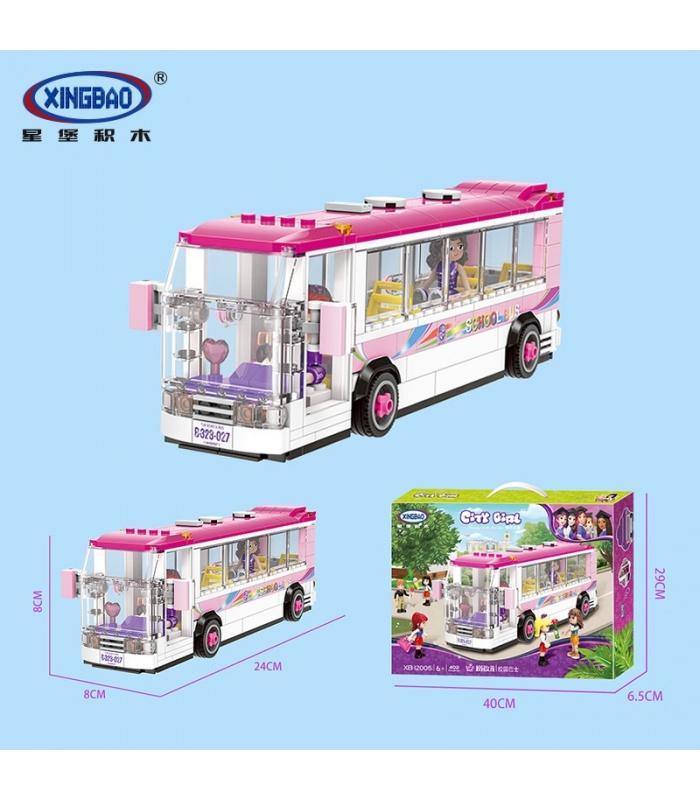 XINGBAO 12005 The School Bus Building Bricks Set