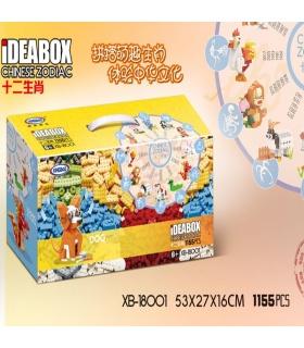 XINGBAO 18001 Chinese Zodiac Building Bricks Set