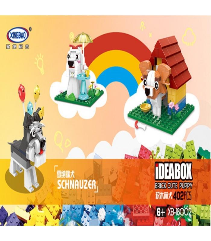 XINGBAO 18002 Lovely Dog Building Bricks Set