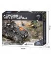 XINGBAO 06018 Armoured Vehicle Building Bricks Toy Set