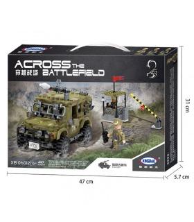XINGBAO 06012 Militaire Jeep Briques de Construction, Jeu de