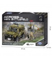 XINGBAO 06012 Military Jeep Building Bricks Toy Set