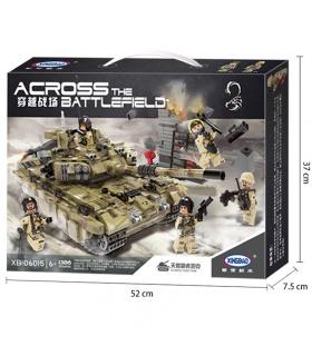 XINGBAO 06015 Scopio char Tigre Briques de Construction, Jeu de