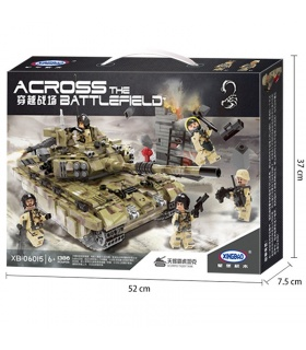 XINGBAO 06015 Scopio Tiger Tank Building Bricks Set