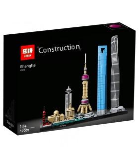 LEPIN 17009 Shanghai Edificio de Ladrillos Conjunto