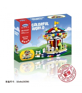 XINGBAO 01107 карусели строительного кирпича комплект