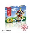 XINGBAO01107Merry Go Round建材用煉瓦の玩具セット