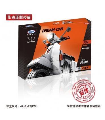XINGBAO 03002 Vespa P200 Moto Bausteine-Set