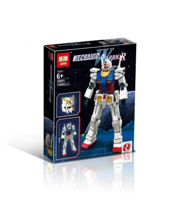 LEPIN 26001 Gundam RX-78-2 Robot MOC Building Bricks Set